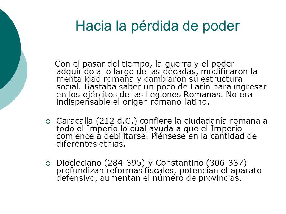 Hacia La pérdida de poder… Julio Cesar (44 a.