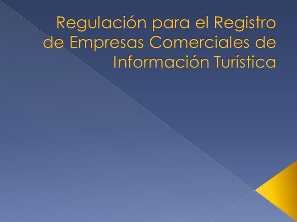 Empresa comercial de información turística es la que se dedica de manera profesional a proporcionar servicios de información turística a todas las personas que lo soliciten.