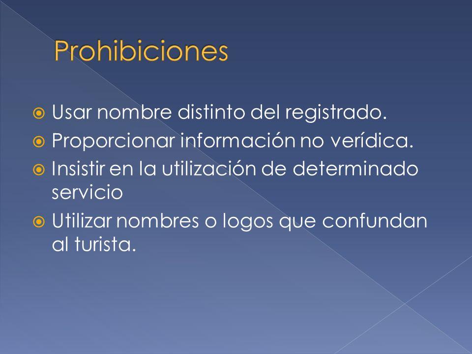 Regulaciones para el Registro de las Empresas comerciales de información turística.