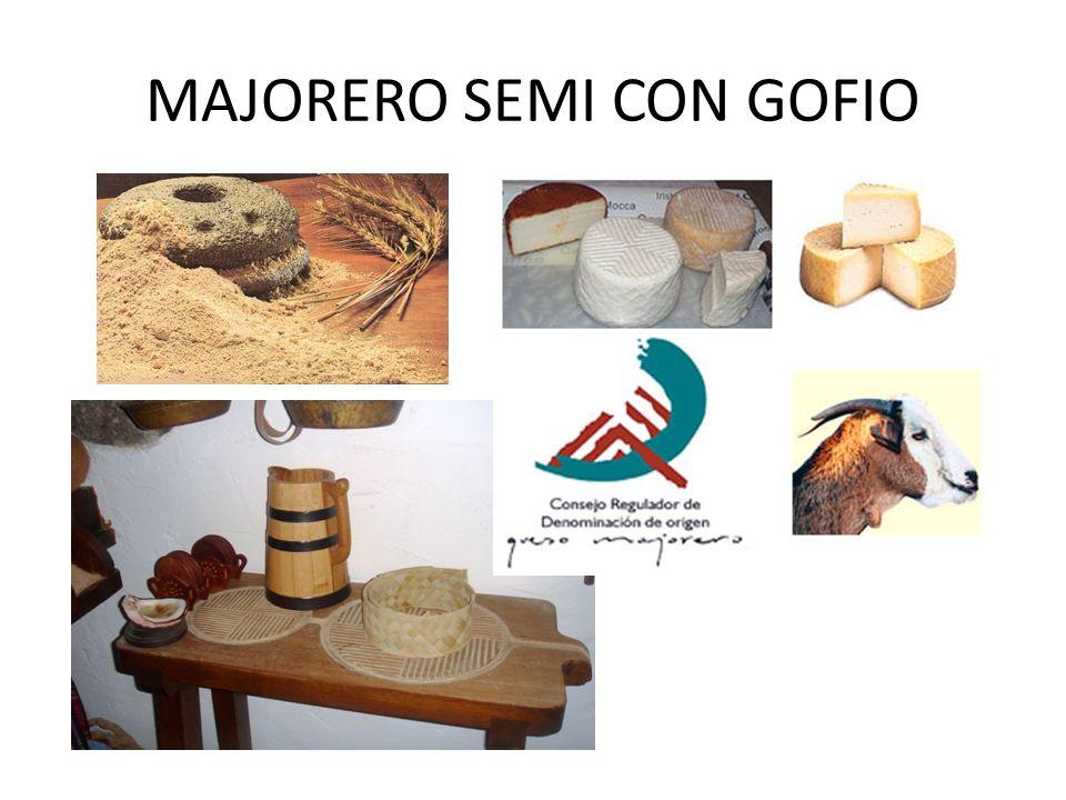 MAJORERO SEMI CON GOFIO