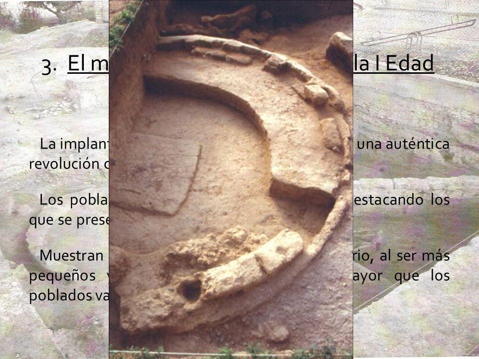 3. El modelo de poblamiento en la I Edad del Hierro La implantación del complejo del Soto supuso una auténtica revolución cultural en la cuenca del Du