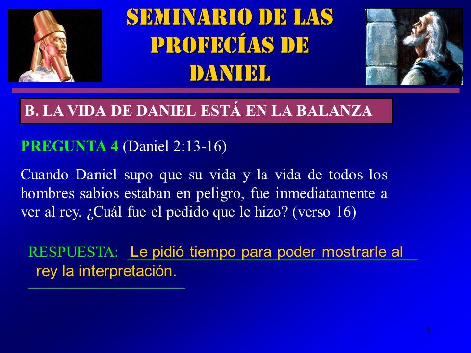 19 Seminario de las Profecías de Daniel EL FIERRO ROMA Venció a Grecia en el 168 a.C.