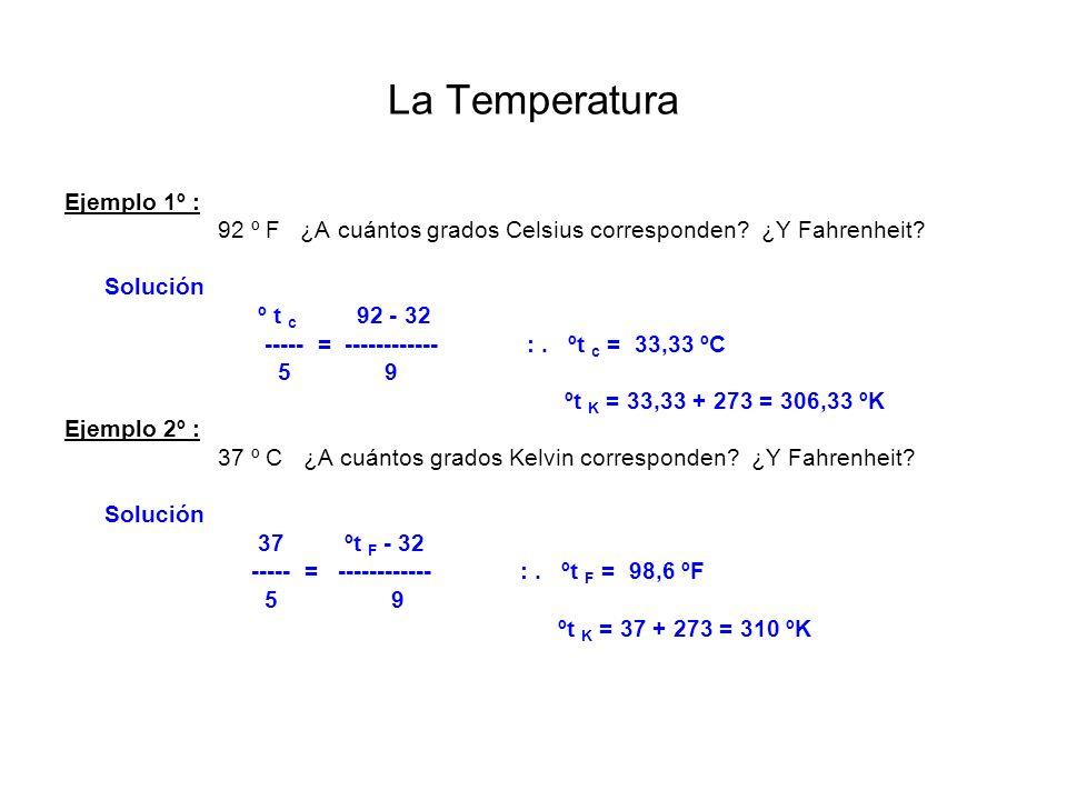 La Temperatura Dilatación térmica Al fenómeno por el que los cuerpos experimentan una variación de volumen al modificar su temperatura, se le llama dilatación.