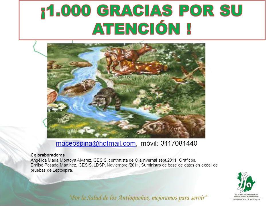 maceospina@hotmail.commaceospina@hotmail.com, móvil: 3117081440 Coloraboradoras Angélica María Montoya Alvarez, GESIS, contratista de Ola invernal sep