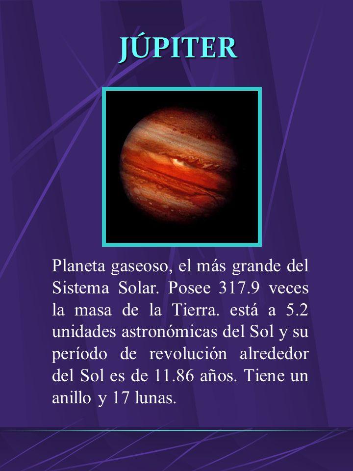 L0S PLANETAS Cuerpo celeste esférico de tamaño considerable de al menos 1000 Km de diámetro. No emite luz propia. Su masa es tal que la energía libera