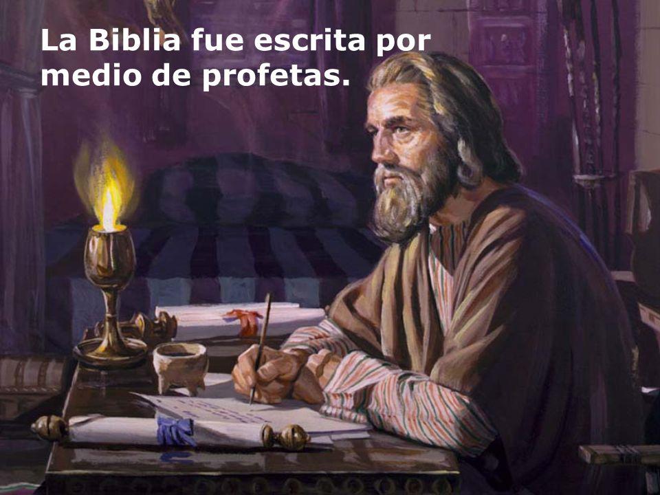 La Biblia no es invención humana.