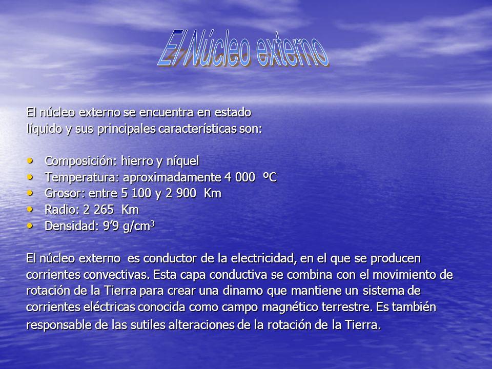 EL NÚCLEO Tema 7 La parte sólida de la Tierra Carlos Sánchez Muñoz Nº 26 1º A GRACIAS