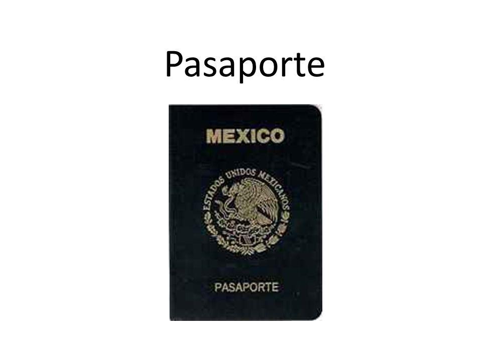 Pasaporte OrigenDel fr. passeport EjemploLe pidieron el pasaporte en la aduana UsoMucho; p.e. Cuando uno va a viajar/ a cruzar fronteras o para identi
