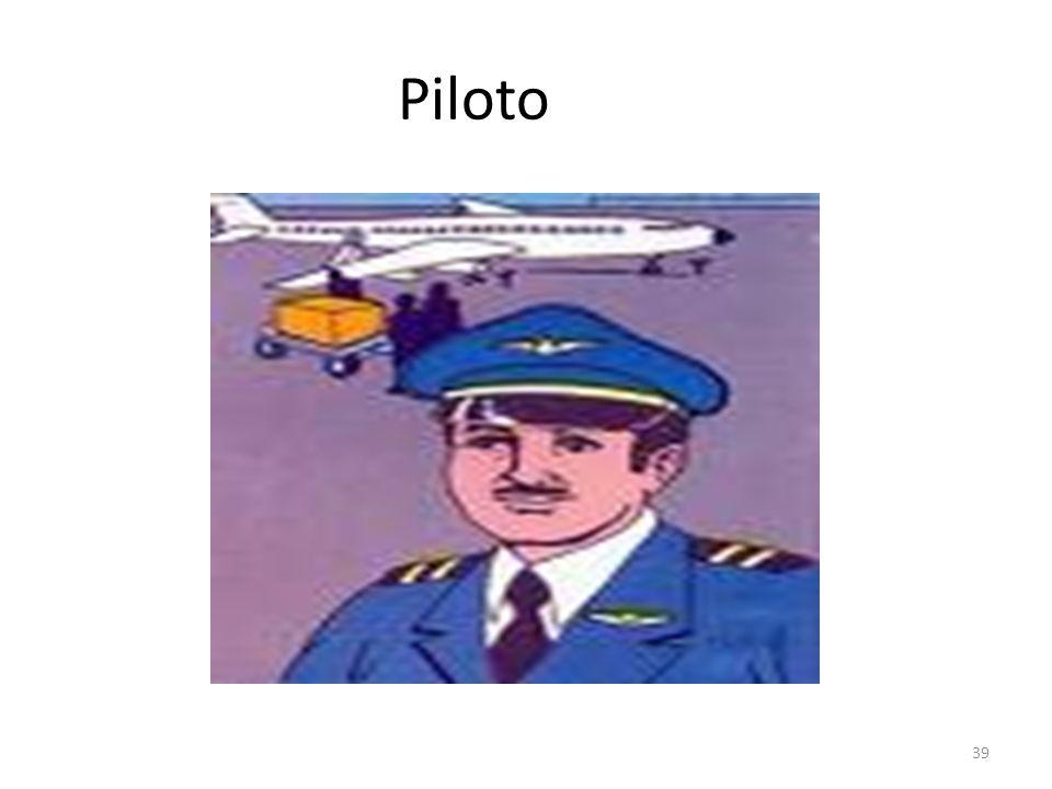Piloto OrigenDel it. piloto EjemploEs el chofer que manega el Avión o el barco. UsoPara ir de un lugar al otro el piloto debe de guiar el aparato. Abr