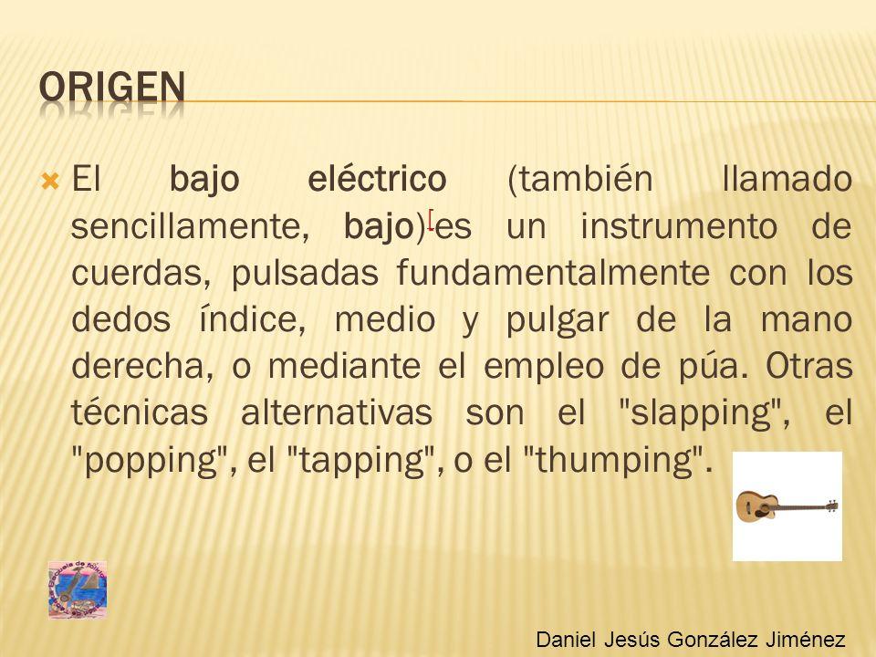 El bajo eléctrico (también llamado sencillamente, bajo) [ es un instrumento de cuerdas, pulsadas fundamentalmente con los dedos índice, medio y pulgar