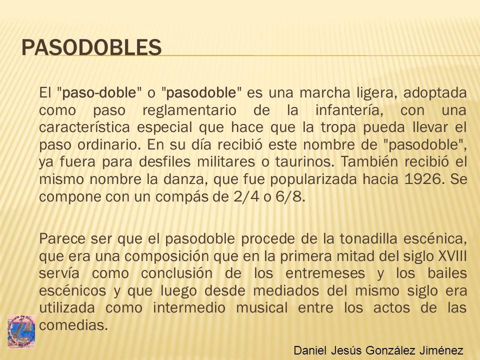 PASODOBLES El