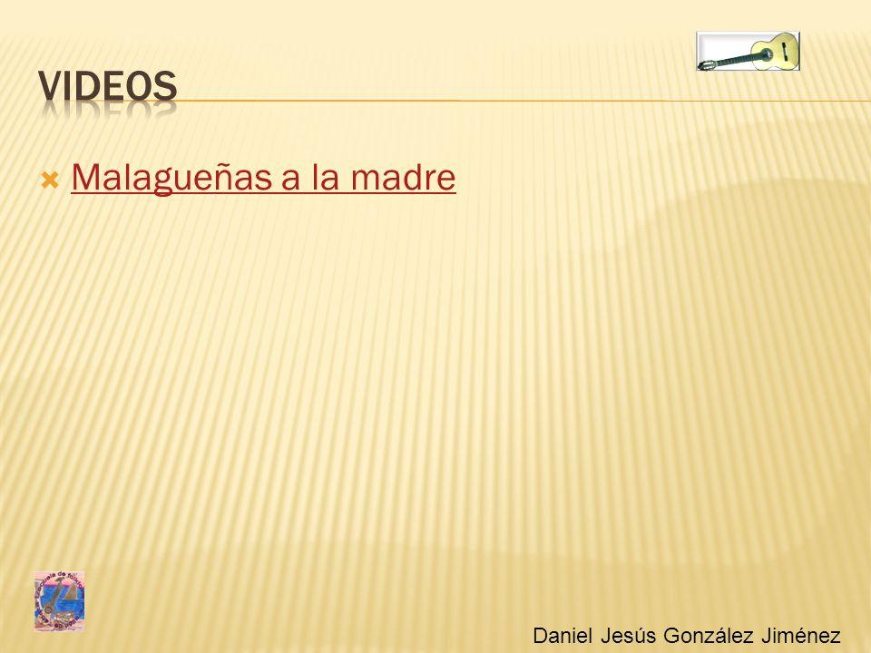 Malagueñas a la madre Daniel Jesús González Jiménez