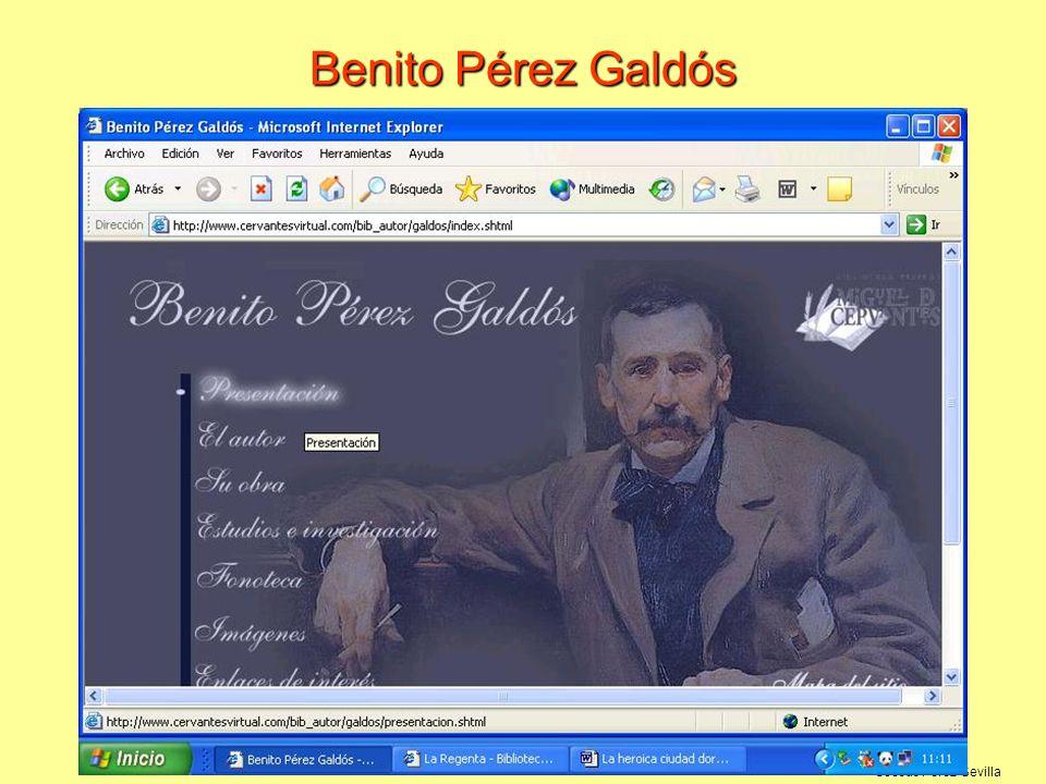 ©Jesús Pérez-Sevilla Benito Pérez Galdós