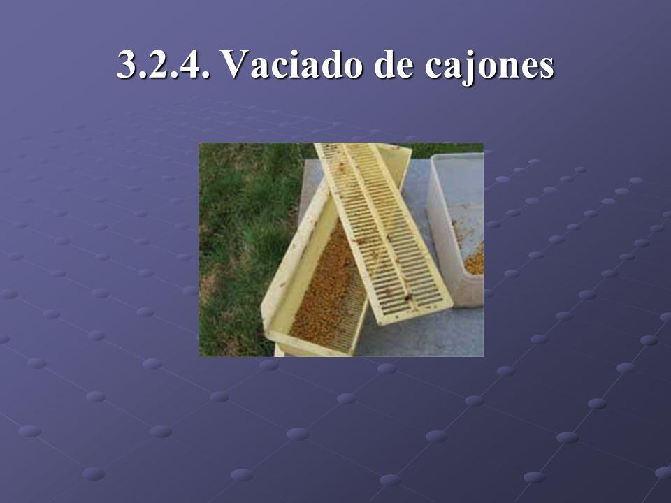 3.2.4. Vaciado de cajones
