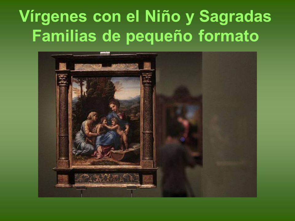 Rafael. Sagrada Familia, o la Perla. hacia 1518. Óleo sobre tabla. Madrid, Museo del Prado.