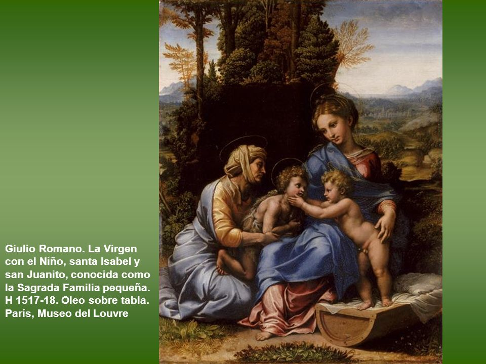 Vírgenes con el Niño y Sagradas Familias de pequeño formato