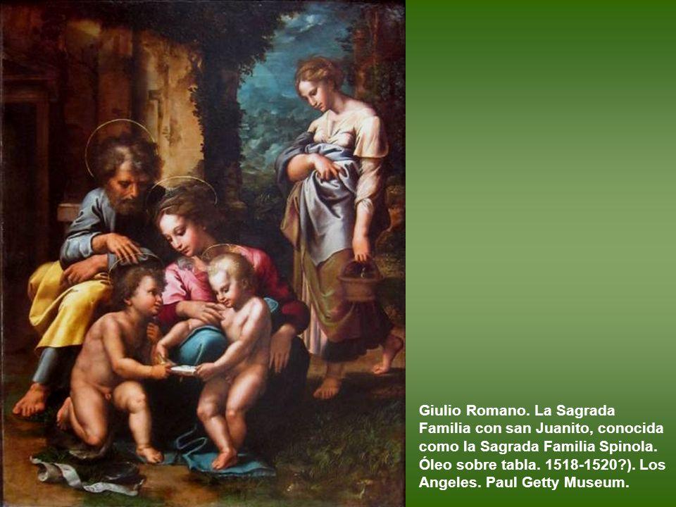Gianfrancesco Penni La Natividad. H 1514-1515. Óleo sobre tabla. Roma. Galleria Borghese.