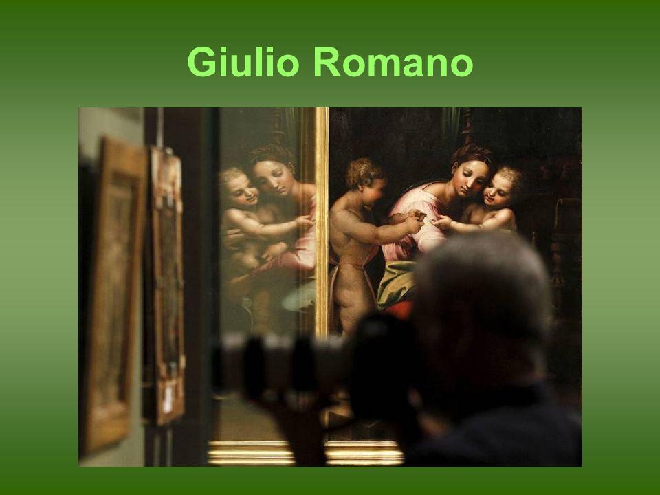 Giulio Romano. Ceres o La Abundancia. Óleo sobre tabla. h. 1517–1518. París, Museo del Louvre.
