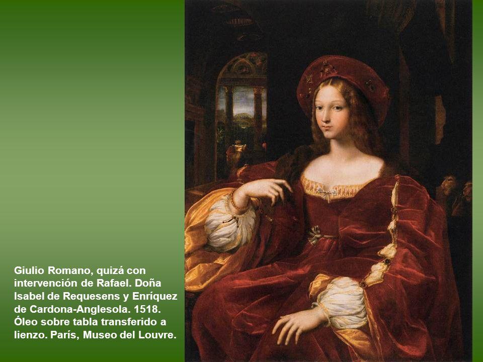 Rafael (y taller?). El cardenal Bibbiena. 1516–1517. Óleo sobre lienzo. Florencia, Galeria Pitti.