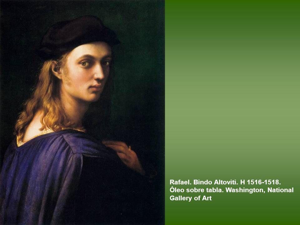 Giulio Romano, quizá con intervención de Rafael. Doña Isabel de Requesens y Enríquez de Cardona-Anglesola. 1518. Óleo sobre tabla transferido a lienzo