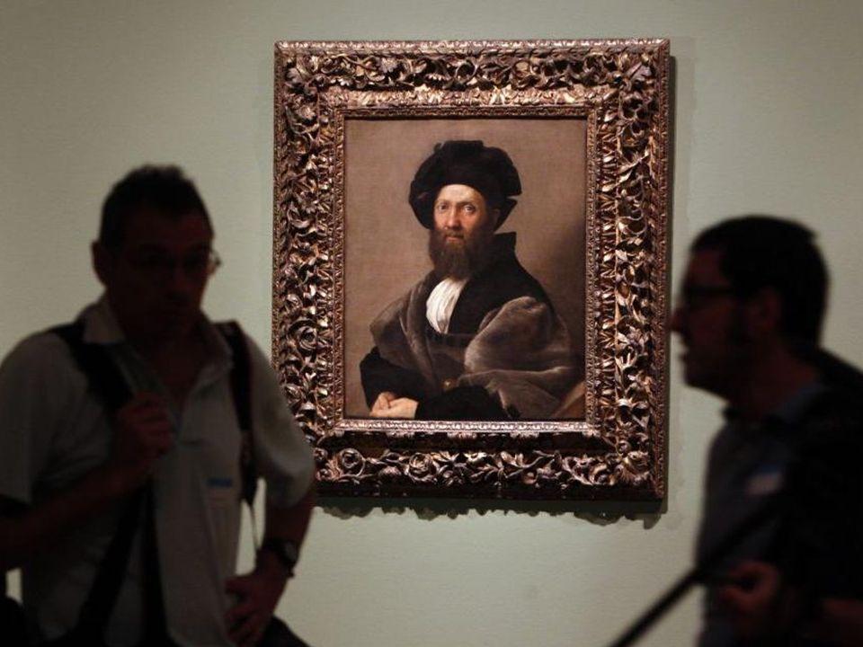 Rafael. Lorenzo de Médicis, duque de Urbino. 1518. Óleo sobre lienzo. Colección particular