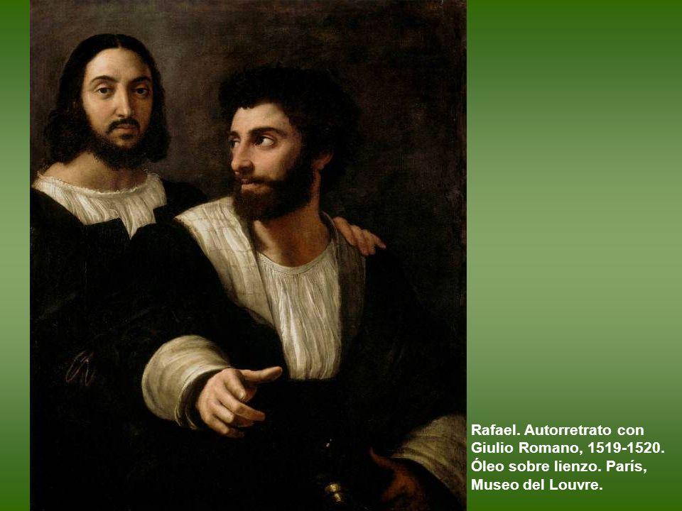 Rafael. Retrato de Baldassare Castiglione. 1519. Óleo sobre lienzo. París, Museo del Louvre