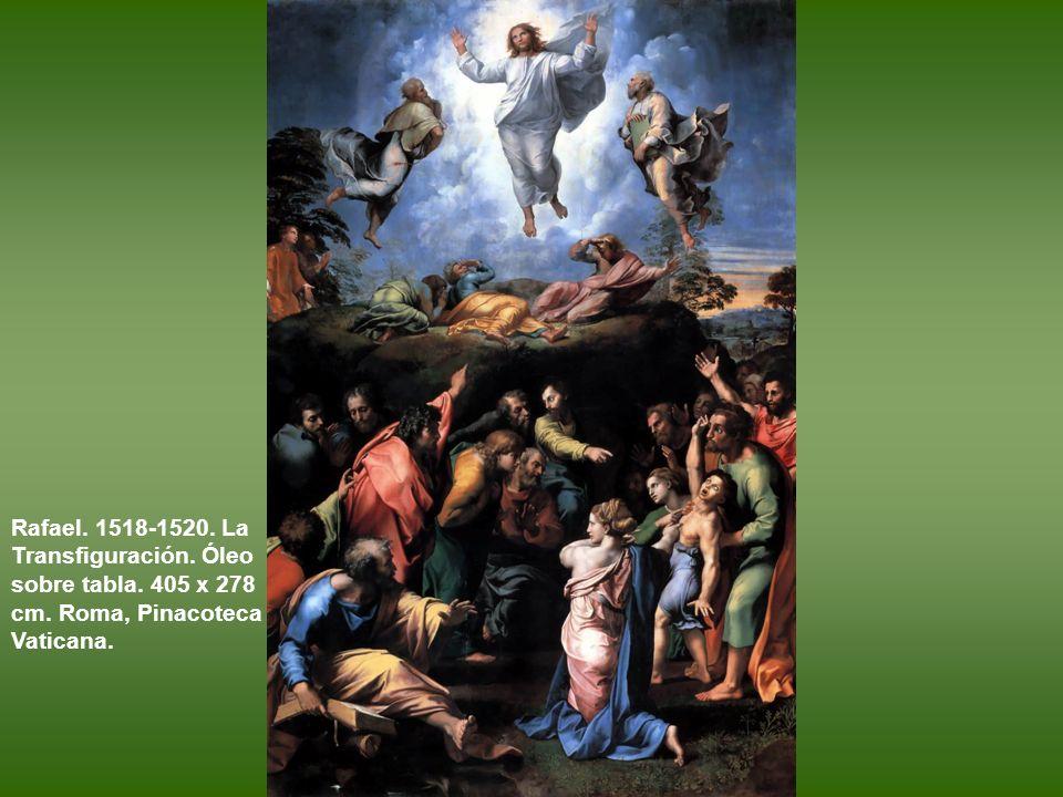 La Transfiguración El original de Rafael en la Pinacoteca del Vaticano