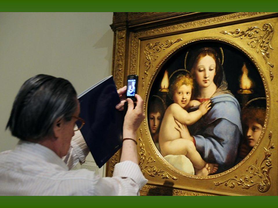 Rafael. La caída en el camino del Calvario, conocida como El Pasmo de Sicilia. Recien restaurada. Óleo sobre tabla transferido a lienzo. 1515 - 1516.