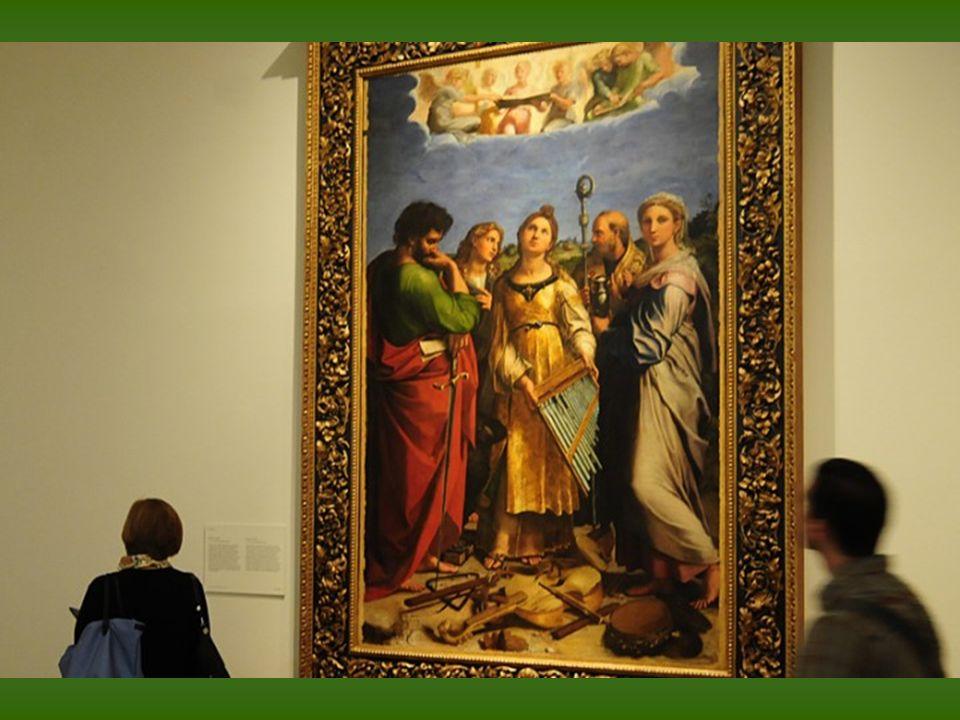 Rafael y taller. La Virgen de los candelabros. Óleo sobre tabla. h. 1513–1514. Baltimore, The Walters Art Museum.