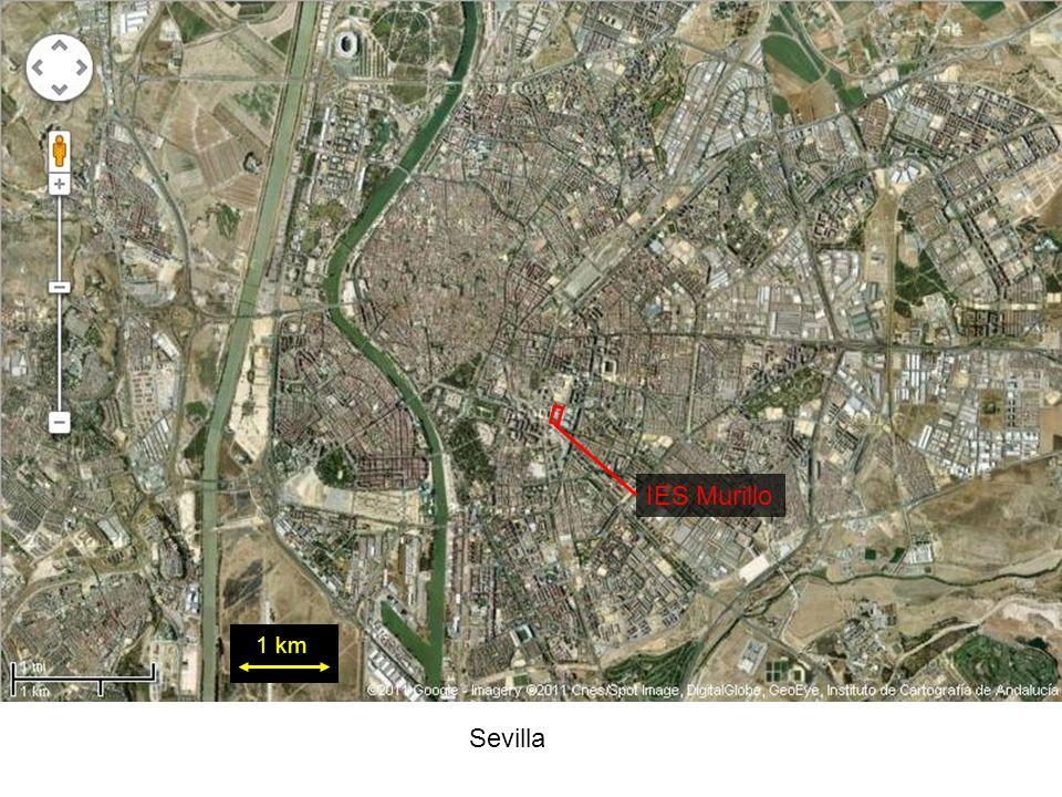 Sevilla 1 km IES Murillo