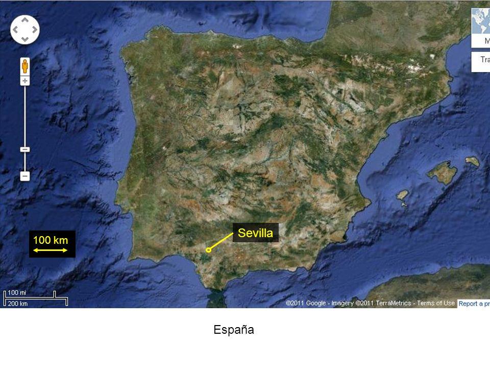 España 100 km Sevilla