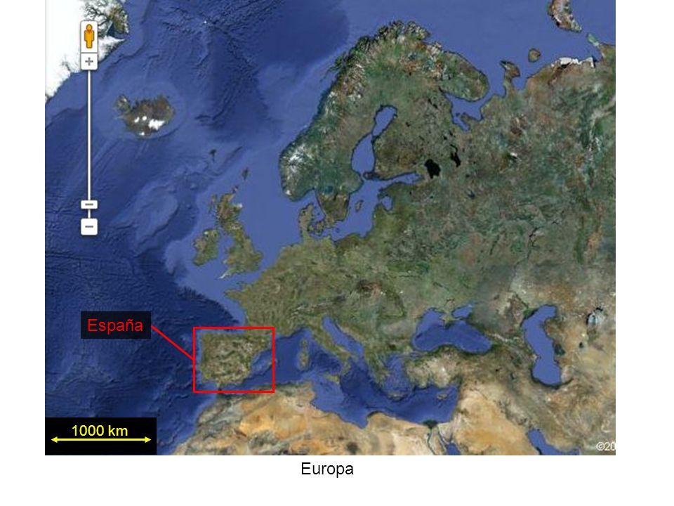 1000 km Europa España