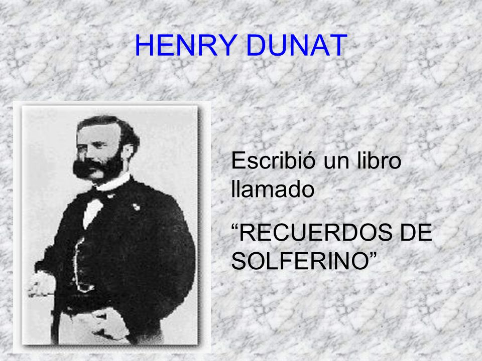 Henry Dunat.