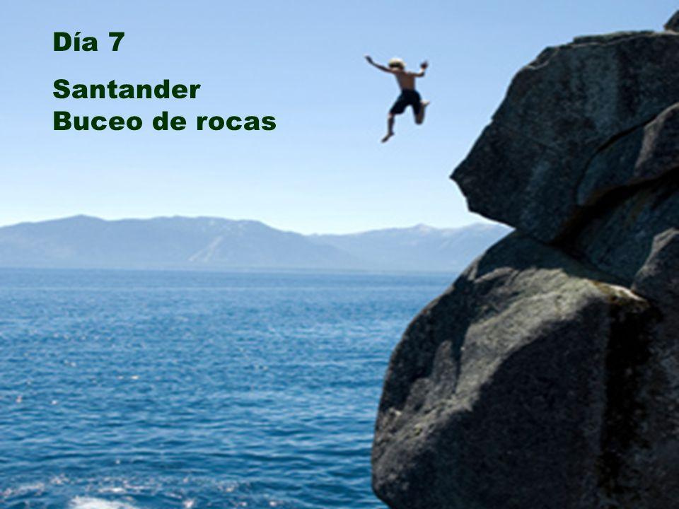 Día 7 Santander Buceo de rocas Día 7 Santander Buceo de rocas