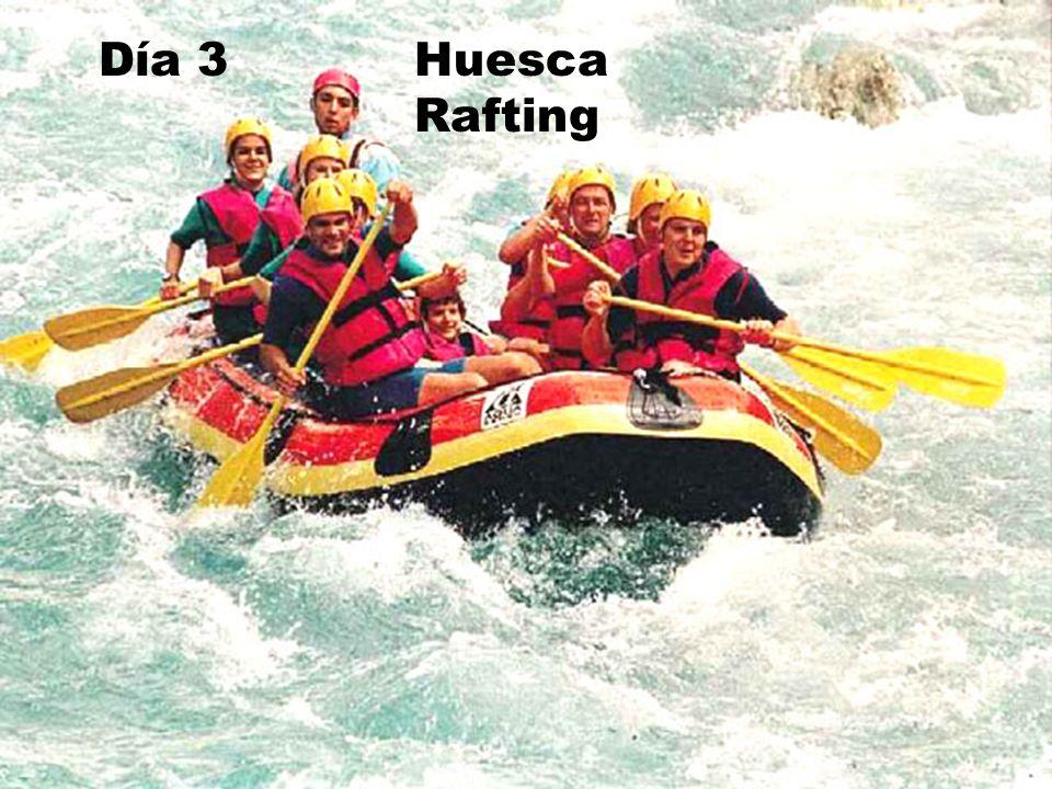 Día 3 Huesca Rafting Día 3 Huesca Rafting