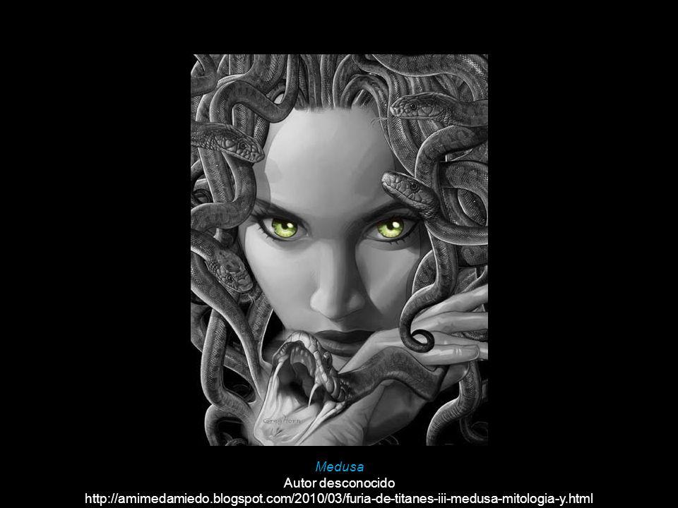 Medusa Autor desconocido http://amimedamiedo.blogspot.com/2010/03/furia-de-titanes-iii-medusa-mitologia-y.html