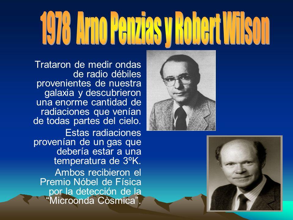 Trataron de medir ondas de radio débiles provenientes de nuestra galaxia y descubrieron una enorme cantidad de radiaciones que venían de todas partes