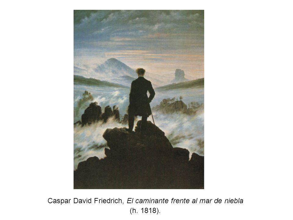 Caspar David Friedrich, El caminante frente al mar de niebla (h. 1818).