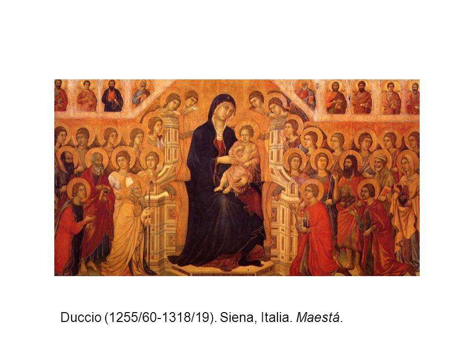 Giotto (1267-1337) Florencia, Italia. Pintura al fresco.