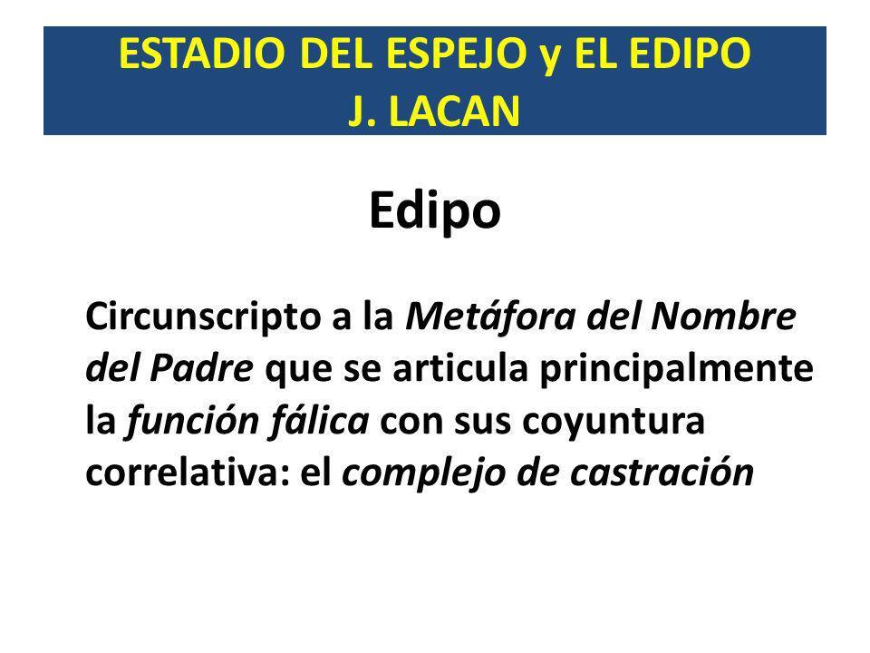2º TIEMPO Constituye una etapa decisiva en el proceso identificatorio.