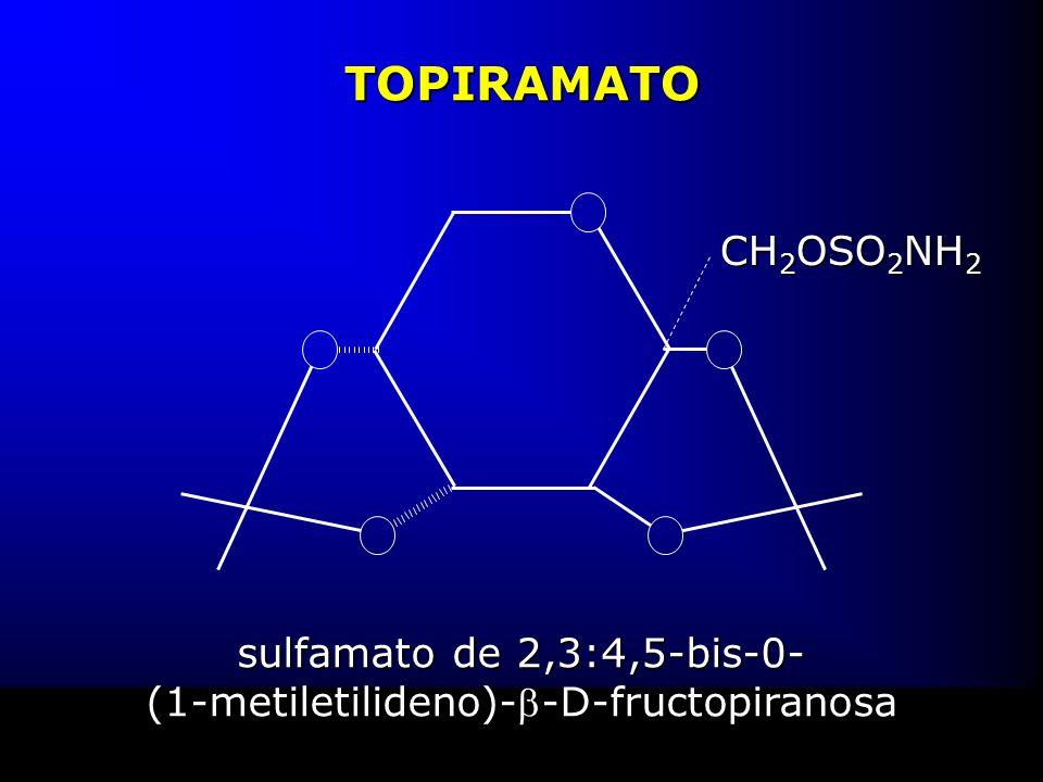 TOPIRAMATO sulfamato de 2,3:4,5-bis-0- (1-metiletilideno)--D-fructopiranosa CH 2 OSO 2 NH 2