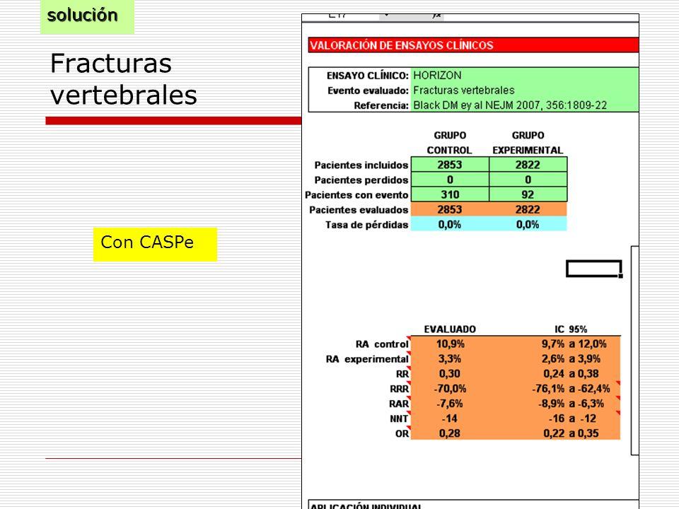 Fracturas vertebrales Con CASPesolución