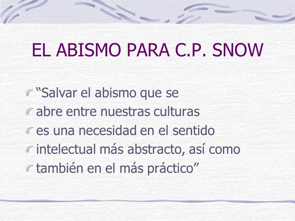 EL ABISMO PARA C.P.