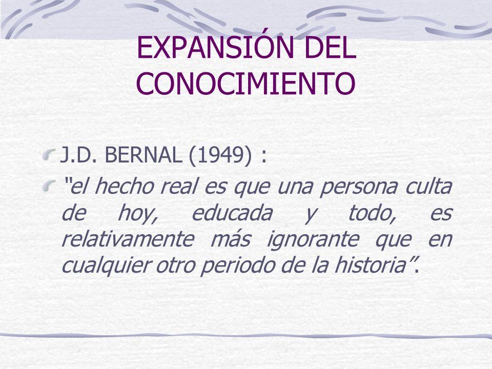 EXPANSIÓN DEL CONOCIMIENTO J.D.