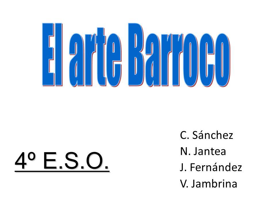 3-ESCULTURA BARROCA Características generales Bernini