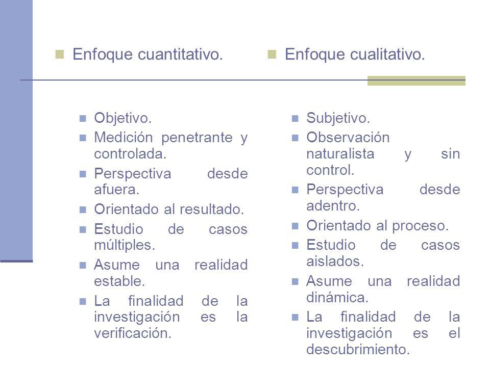 Utilización de ambos enfoques en una misma investigación Según Hernandez Sampieri y otros 2003 El modelo de dos etapas: Dentro de una misma investigación, se aplica primero un enfoque y después el otro, de forma casi independiente, y en cada etapa se siguen las técnicas correspondientes a cada enfoque.