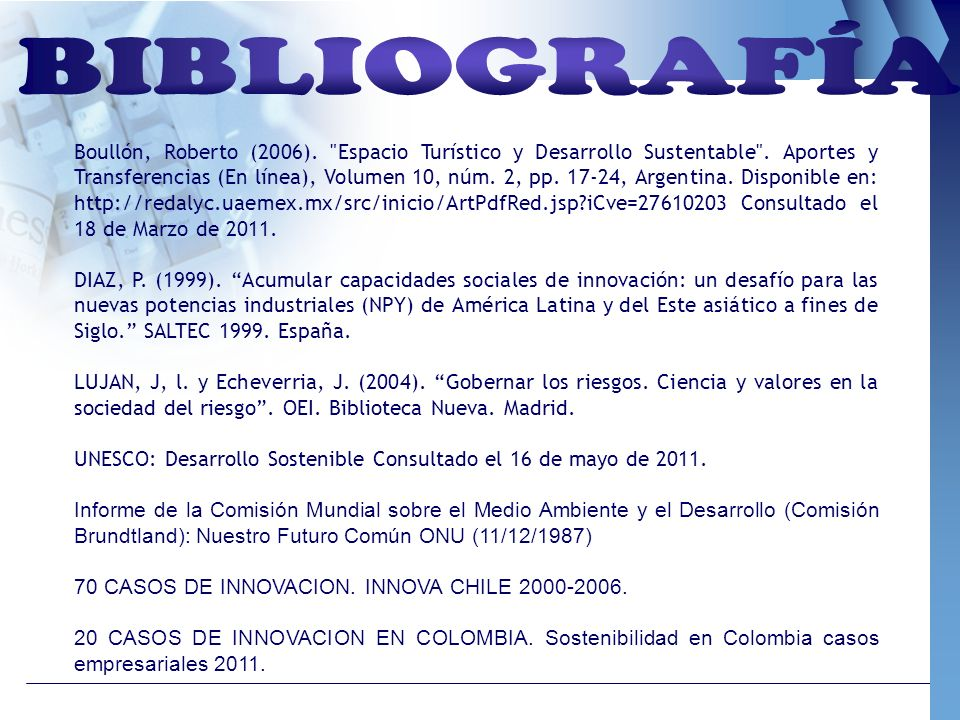 Boullón, Roberto (2006).