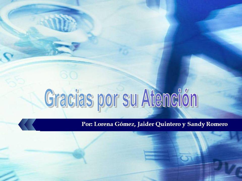 Por: Lorena Gómez, Jaider Quintero y Sandy Romero