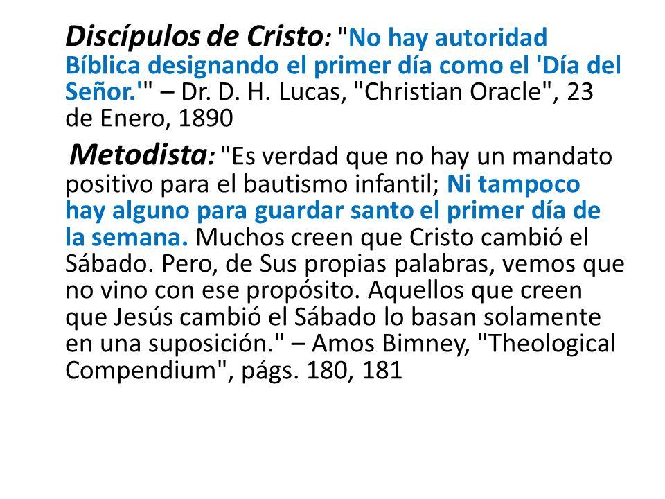 Discípulos de Cristo :