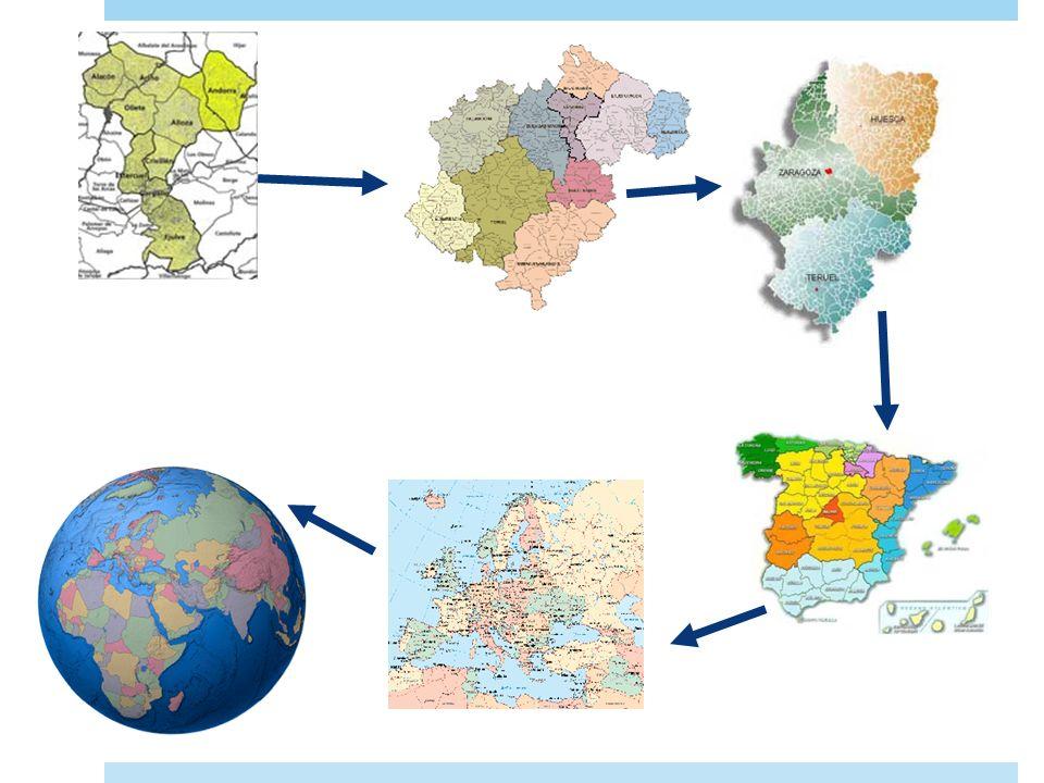 Los mapas Mapa : representación de una parte de la superficie terrestre sobre un plano. Cartografía : ciencia que se encarga de elaborar mapas. Telede